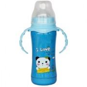 TOYS FACTORY Baby Cartoon Design Feeding Bottle Plastic 180 ML