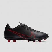 NIKE Mercurial vapor 13 club mg voetbalschoenen zwart/rood kinderen Kinderen - zwart/grijs - Size: 35