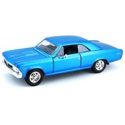 Maisto 1:24 Scale 1966 Chevy Chevelle SS 396 Diecast Vehicle (Colors May Vary)