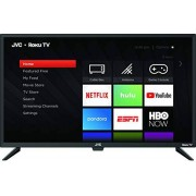 "JVC Televisión LT-32MAW388 32"" Class Pantalla HD (720p) Roku Smart LED TV (Renewed)"