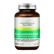 Good Health Naturally Curcumina - Curcumin X4000 - 180 caps
