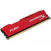 DIMM DDR3 8GB 1866MHz HX318C10FR/8 HyperX Fury Red