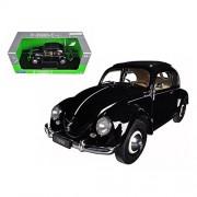 1950 Volkswagen Classic Old Beetle Split Window Black (1:18)