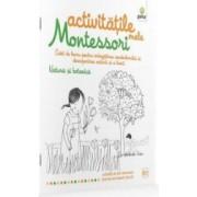 Natura si botanica - Activitatile mele Montessori