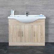 Hudson Reed Meuble-lavabo 106x78x48cm Classic Oak