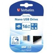 Verbatim PENDRIVE 16GB VERBATIM NANO 98709 USB DRIVE 3.0 STORE N STAY 16 GB -98709-