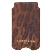 Liebeskind Smartphone covers Suede Lux Galaxy S4 Cover Bruin
