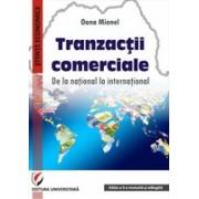 Tranzactii comerciale. De la national la international