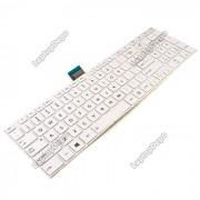 Tastatura Laptop Toshiba Satellite S50-A-10P alba
