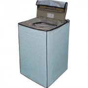 Dream Care Sky Blue Printed Washing Machine Cover for Fully Automatic Top Loading Samsung WA60H4100HY 6 kg
