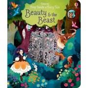 Peep Inside a Fairy Tale Beauty & The Beast, Hardcover/Anna Milbourne