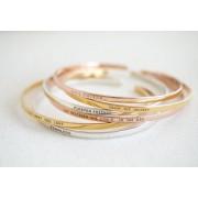Herzschmuck Luxuriöses dünnes Armband