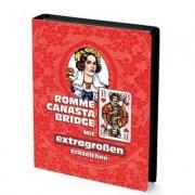Coffret Jeux De Cartes - Rommé Canasta Bridge : Rouge