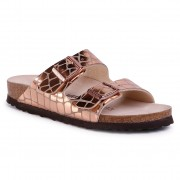 Чехли BIRKENSTOCK - Arizona Bs 1016047 Gator Gleam Copper