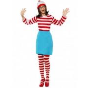 Disfraz ¿Donde está Wally? mujer M