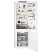 Combina frigorifica Aeg SCE81816TS, incorporabila, A+, no frost, 192+61 litri, electronic, alb