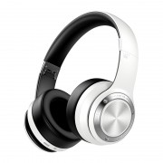 PICUN B21 Over-ear Wireless Bluetooth 5.0 Stereo Headphone Headset with Built-in Microphone - Black/White