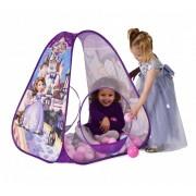 Cort de joaca pentru copii cu tarc pentru bile - Printesa Sofia