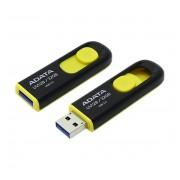 Adata UV128 DashDrive 32GB USB 3.0 pendrive, fekete-sárga