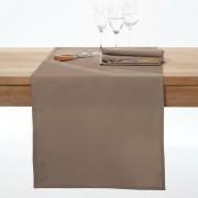 La Redoute Interieurs Caminho de mesa com tratamento antinódoas SCENARIOcastanho-toupeira- 45 x 150 cm