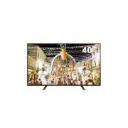 TV LED 40 Full HD Panasonic TC-40D400B com Conversor Digital Integrado, Media Player, Entradas HDMI e Entrada USB