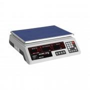 Bilancia da banco di controllo - 30 kg / 2 g - bianca - LED