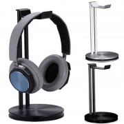 Alloy Universal Aluminum Alloy Lightweight Headphone Stand Headset Holder Earphone Stand Bar Mount