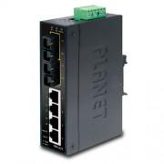 Planet Industrial 6-Port (4x 100Mbps RJ45 2x 100Mbps MM FX(SC)-2km Switch, Unmanaged
