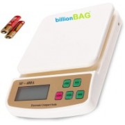 Billionbag Electronic Digital SF 400A 5 Kg With Battery Best Qualtiy And Highly Durable Kitchen Use Weighing Scale(White)