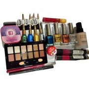 LOTUS CREATION PROFESSIONAL SPECIAL MAKE UP KIT COMBOS FOR WOMEN (Pack Of 17)