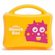 Myprotein Little Beasts krabička na jídlo pro dívky - Žlutá