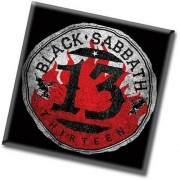 magnet Black Sabbath - 13 Flame Circle - ROCK OFF - BSMAG04