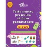 TESTE PENTRU PRESCOLARI SI CLASA PREGATITOARE 5-7 ANI