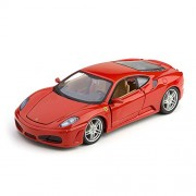 Bburago Ferrari F430 1:24 Diecast Scale Model Car (Red)