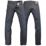 Rokker Rokka Daytona Raw Jeans Kalhoty 34 Modrá