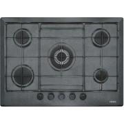Plita incorporabila Franke Multi Cooking MR FHMR 705 4G TC GF E , 5 arzatoare gaz, 70 cm, Grafite