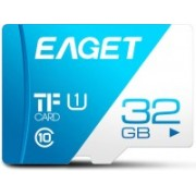 Eaget Premium 32 GB MicroSD Card Class 10 100 MB/s Memory Card(With Adapter)