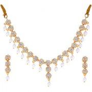 Sri Jagdamba Pearls Emma Pearl Drop Necklace