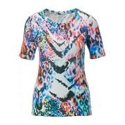 MADELEINE T-shirt femme blanc cassé/multicolore / blanc
