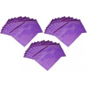Ajabh High Quality Pack of 35 purple Bridal Single saree travelling bag case Gift Organizer bag vanity pouch Keep saree/Suit/Travelling Pouch(Purple)