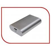 Аккумулятор Palmexx 1-USB 10000mAh Silver PX/PBANK MET 10000