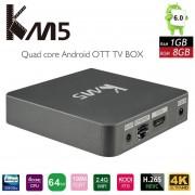 Amlogic S905X Quad Core 4K HD Player Con WiFi 1G RAM 8G ROM (US PLUG)