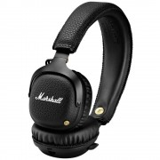 Bluetooth® HiFi Naglavne slušalice Marshall Mid Bluetooth Preko ušiju Sklopive, Slušalice s mikrofonom Crna