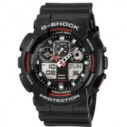 Casio G-Shock Analog-Digital Black Dial Mens Watch - GA-100-1A4DR (G272)