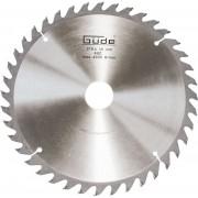 Disc pentru fierastrau circular taiere lemn Guede GUDE55075 O210 x 30 mm 40 dinti