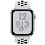 Apple Watch Nike+ Series 4 GPS 44mm Aluminio Plata con Correa Deportiva Nike Platino Puro/Negra