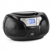 Groovie BK Aparelhagem de Som Bluetooth CD FM AUX MP3