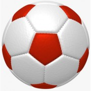 FOOTBALL-SIZE 5 diameter 21 cm ( pack of 1)