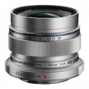 Olympus 12mm F2 ED Obiectiv Olympus MFT, argintiu