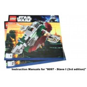 INSTRUCTION MANUALS for Lego Star Wars Set #8097 Slave I (3rd edition)